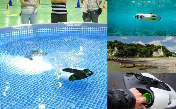 水中ドローンが自由に使える体験会