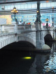 水中ドローンBW Space Pro日本橋川における水質調査を協力5