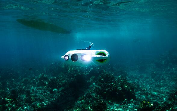 水中ドローンBW Space Pro自動調光システム、インテリジェント撮影体験