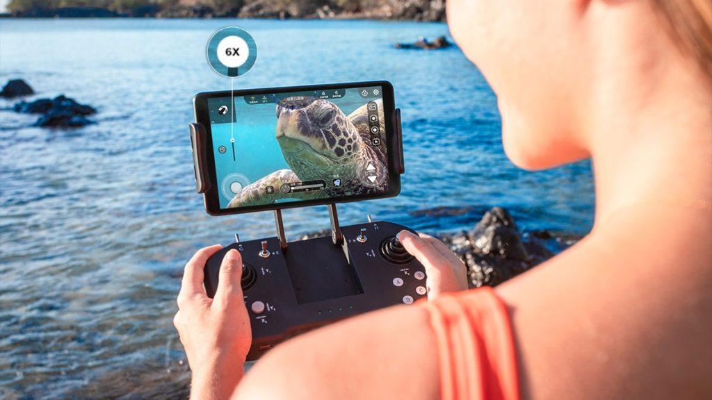 BW Space Pro ZOOMモデルは、水中ドローンのメーカー「Youcan Robot」が生産、発売した小型水中ドローン(ROV)セットです
